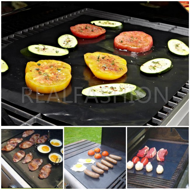 2pc/lot,NON-STICK SURFACE,Make Grilling Easy,Hot Plate Mat,PORTABLE BBQ Mat,EEZ BBQ GRILL MAT,free shipping(China (Mainland))