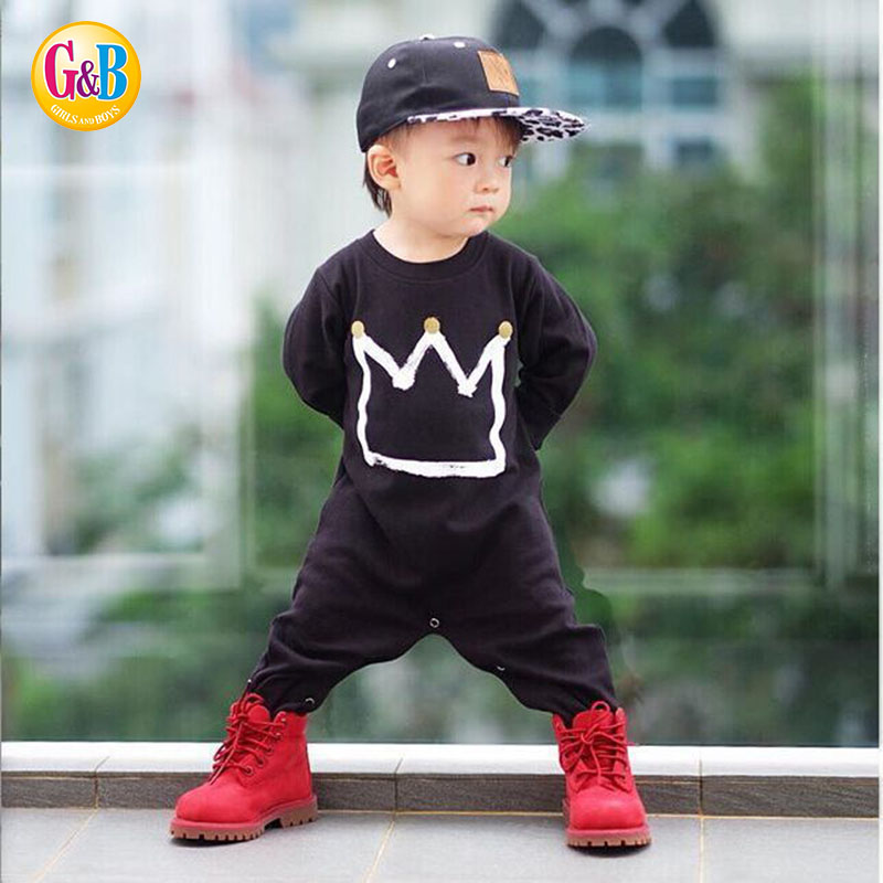 Ins Toddler Romper Baby Clothing Jumpsuit Long Full Over ...