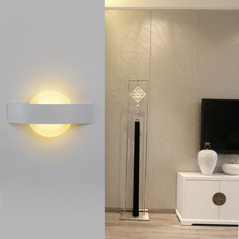 6w Modern Led Wall lamp With Square Shape up down bathroom light Household living bed lights Aluminum beside lamp for reading<br><br>Aliexpress