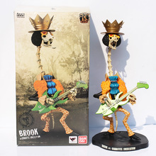 Japanese Anime Cartoon One Piece Figures Toy Brook Action Figures PVC Toys Gifts Collectable Model 40cm kunai