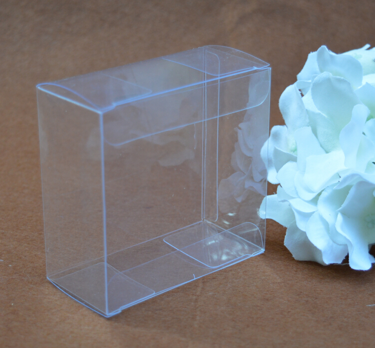 Size:15*15*3cm, clear pvc packaging boxes , plastic display box , clear plastic wedding gift boxes(China (Mainland))