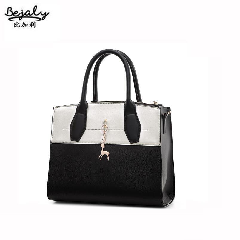 Фотография Famous brand top quality dermis women bag  2016 new fashion handbags Hit the color Messenger Bag