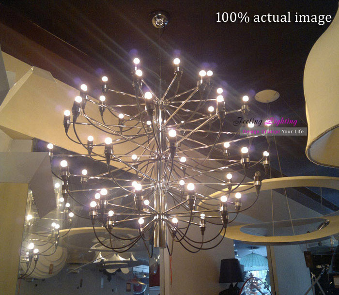 New product Free Shipping Modern Hot Selling Pendant lamp The fruits of summer chrome Pendant Light,18 bulbs lamp<br><br>Aliexpress