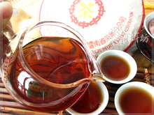 More than10 year old Chinese yunnan puer tea 357g shu health care foods Top grade pu