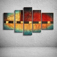 oil paintings hand painted painting on canvas home decoration Modern abstract oil Painting wall XD5-090
