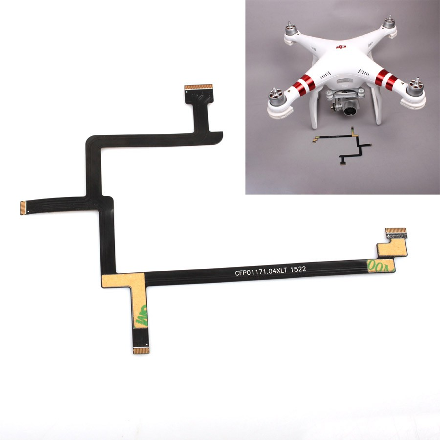 DJI Phantom 4 3A 3P Phantom 3 Standard Flexible Gimbal Flat Cable Repairing Use Flat Wire for Phantom 3 Gimbal Accessories