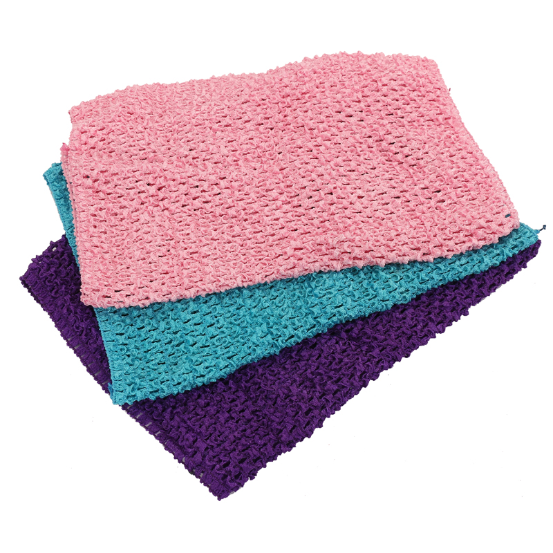 """2016 New Wholesale 9""""(20*23cm)Baby Girl Elastic Crochet Headbands Tutu Tube Tops Chest Wrap Wide Headwear Accessories 32 Color(China (Mainland))"""