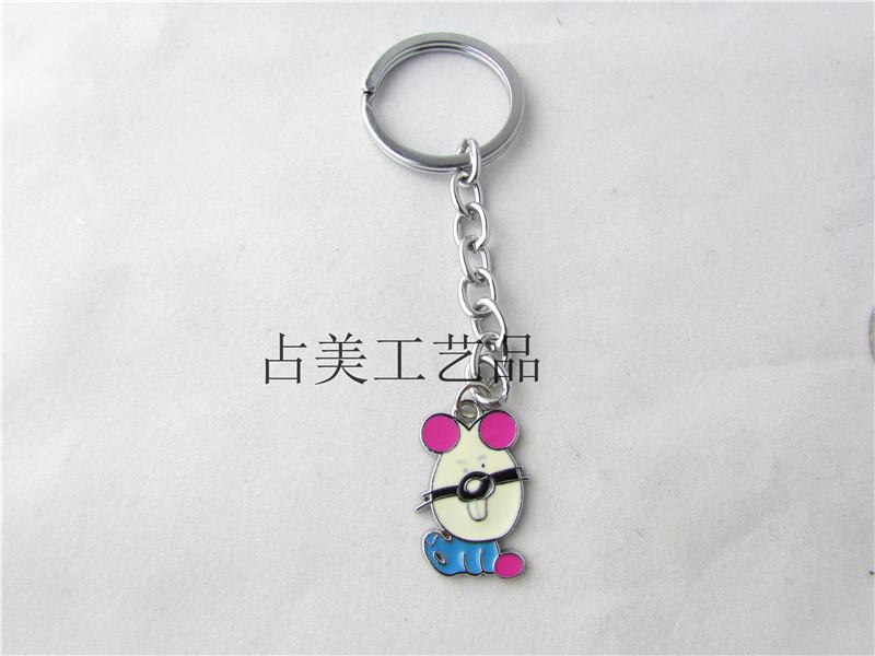 Cute cartoon kitty cat keychain key pendant fashion ornaments personalized promotional gift ideas(China (Mainland))