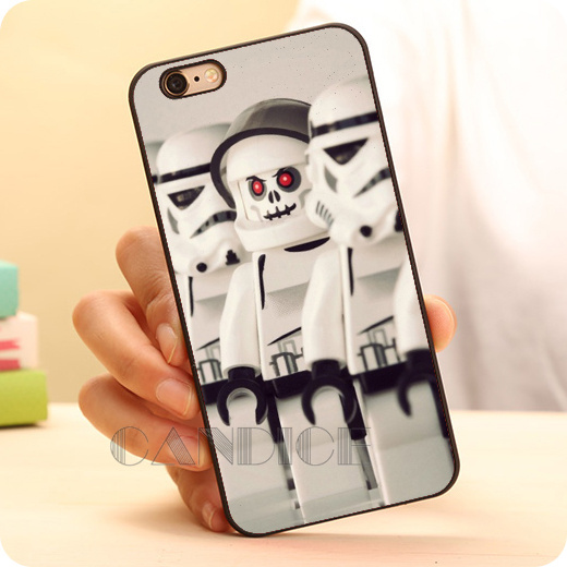 Hot stormtroopers star wars lego Hard Skin Mobile Phone Cases Accessories For iPhone 6 6 plus