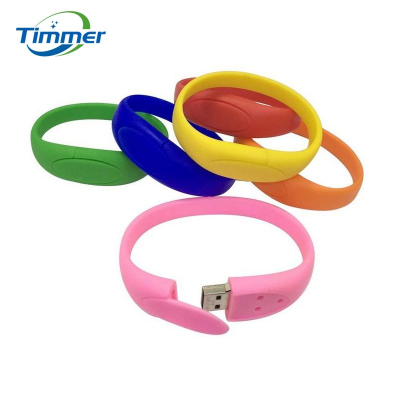 100% real capacity colorful bracelet wrist band USB Flash drive silicone USB Stick Pen Drive 4GB 8GB 16GB 32GB 64GB(China (Mainland))