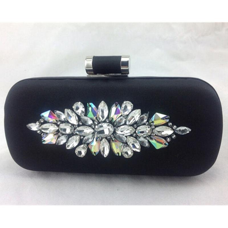 2015 Fashion Ladies Rhinestone Clutch Women Evening Bag Designer Dinner Party Bag Bridal Wedding Purses Bolsas mujer XA1358C