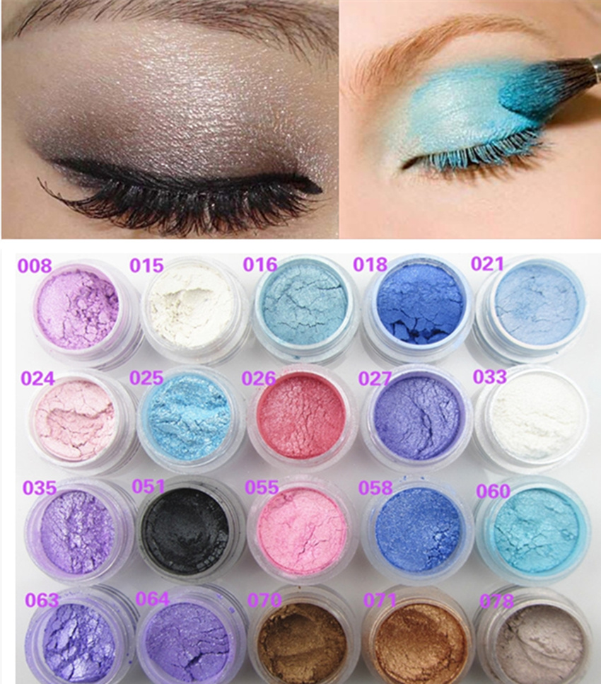 Professional Brand Makeup Glitter Shimmer Eye Shadow Powder Pigment Mineral Naked Eyeshadow Highlighters Brightens Maquillaje(China (Mainland))