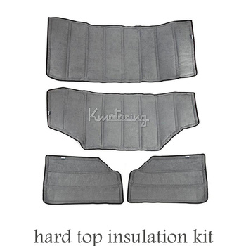 4pcs Sound Deadener Hard Top Insulation Kit for Jeep Wrangler JK 2012-2015 4 Door Car Detector Car Accessories