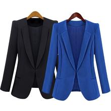 Buy 2017 New Spring Autumn Women Slim Blazer Coat Fashion Casual Jacket Long Sleeve Suit Blazers Work Wear Blazer Female JL for $14.84 in AliExpress store