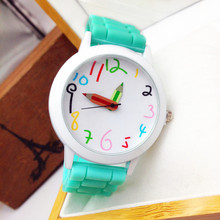 2016 Special Offer Limited Fashion Cartoon Pencil Pointer Funny Digital Silicone Watches Best Gift Women & Men Watch