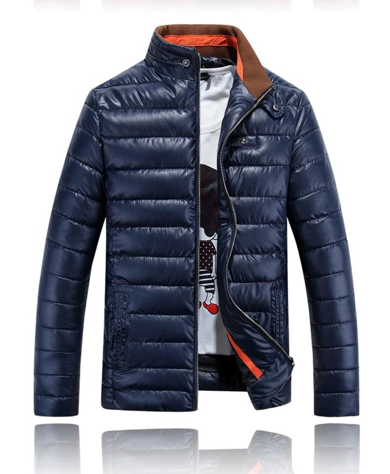 #4007 PU Mens kış ceket ve mont Parkas hombre 2016 Moleton masculino Kış ceket erkek Jaqueta masculina Parka erkekler XXXL