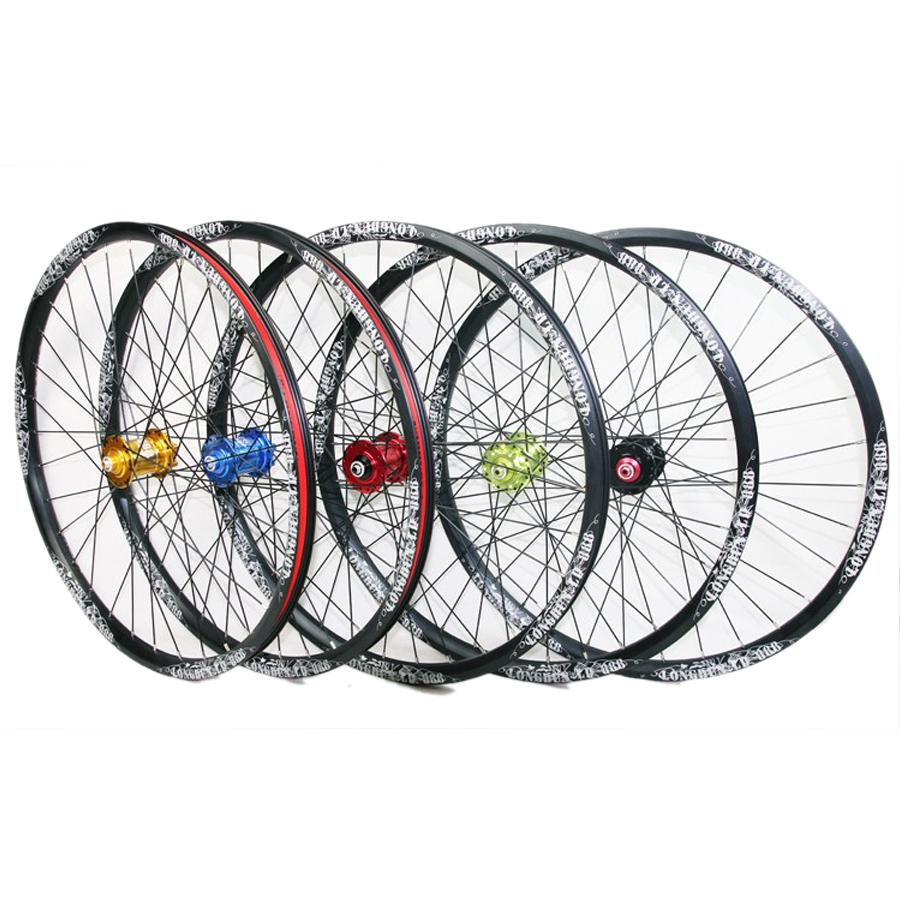 26 MTB Bike Bicycle Five Bearing Hub Disc Brake 32 Spokes Casette Wheelsets<br><br>Aliexpress