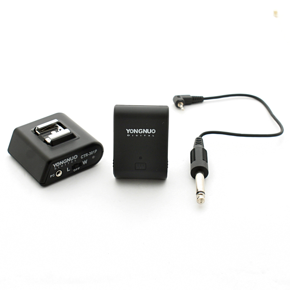 Wireless Camera Flash Sync Trigger Receiver Hot Shoe Set CTR-301P W/PC for Sony(China (Mainland))
