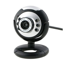 PROMOTION! USB PC Webcams Web Camera 6 LED Night Vision MSN,ICQ,AIM,Skype,Net Meeting