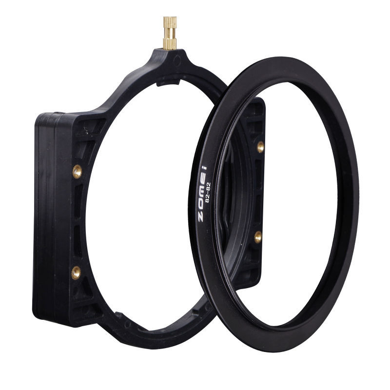 Zomei square optical filter holder with holder ring 82mm(China (Mainland))