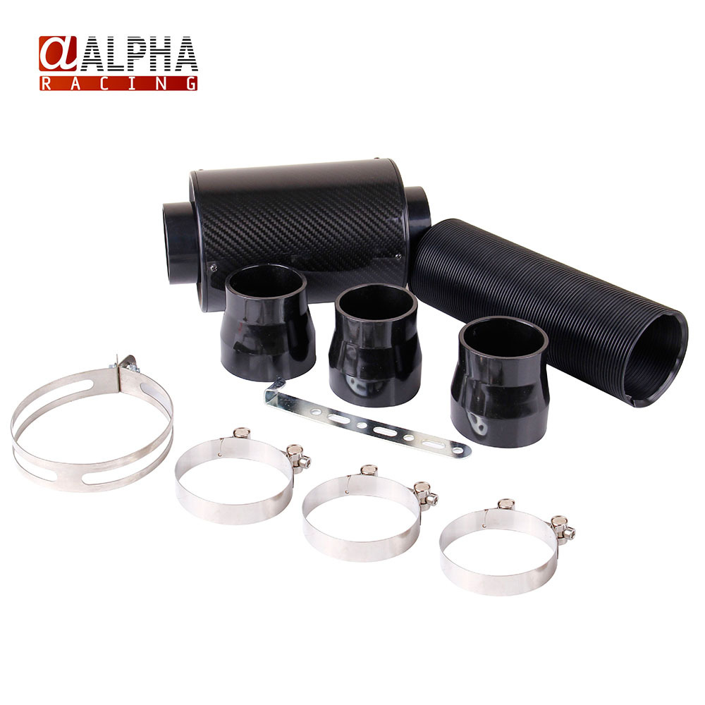 Alpha Racing- High Quality KRICNG Cold Feed Induction Kit & Carbon Fibre Air Filter Box without fan(China (Mainland))