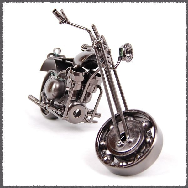 New arrival Metal motorcycle model, modern and simple fashion, creative decorations, wrought iron M2 free shipping