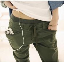 2013 New,korean/japan Fashion Women Cotton Pants,ladies Casual Trousers,3colors,x2611 (China (Mainland))