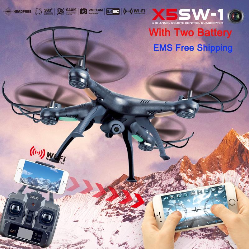 Hot Kvadrokopter UAV X5SW-1 FPV Drones with Camera Upgrade X5SW RC Quadrocopter Remote Control Helicopter quadcopter with camera(China (Mainland))