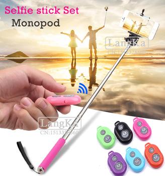 z07 1 extendable self palo selfie stick handheld monopod clip holder wireles. Black Bedroom Furniture Sets. Home Design Ideas