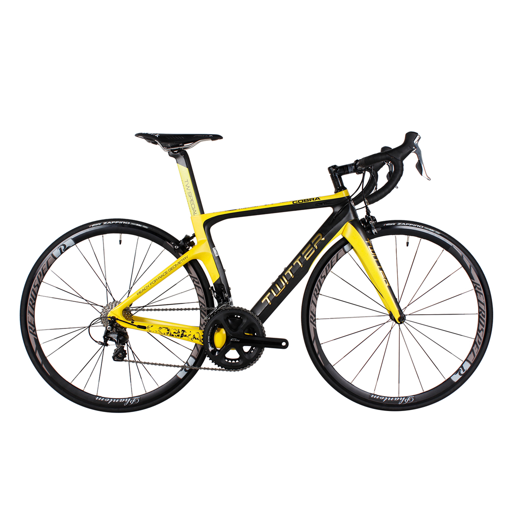 TWITTER Hot sale Full Complete carbon road Bicycle carbon road Bike complete 22 Speed V Brake XXS/XS/S/M/L