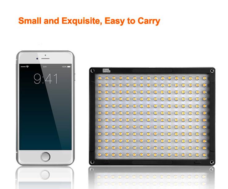 Pixel DL-918 192pcs LED DSLR Cameras DV Camcorder Photo Light Lamp Studio Fill Lighting + C-Shaped Flash Light Bracket<br><br>Aliexpress