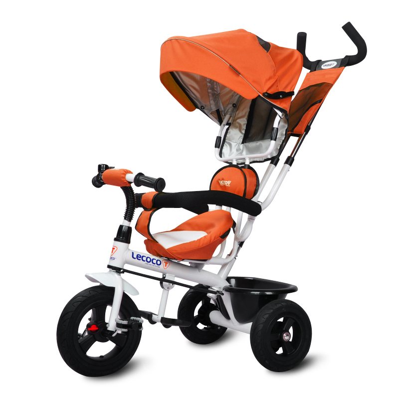 Lecoco Brand Children Tricycle Kid's Bicycle for 0.5-5Years Baby Ride on Stroller 3 Pneumatic Wheels 5 Colors in Stock(China (Mainland))