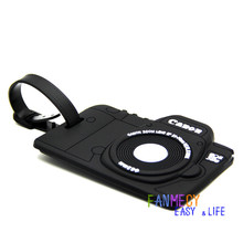Portable Secure Travel Kit Suitcase ID Black Camera Luggage tag Handbag Tote Bag Large Tag Travel Accessories(China (Mainland))