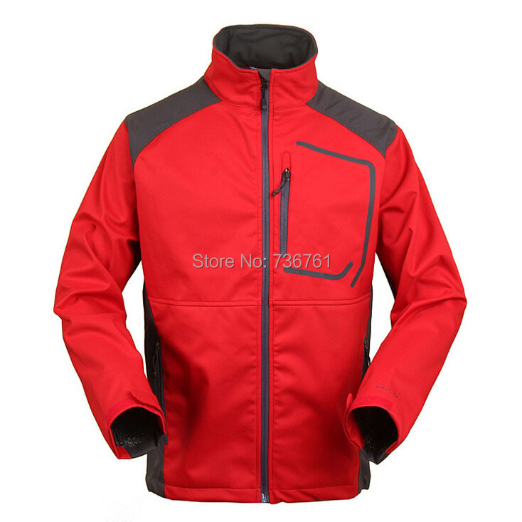 Fashion Brand Outdoor Mens outdoor windproof waterproof softshell windbreaker Camping &amp; Hiking jacket Free shipping <br><br>Aliexpress