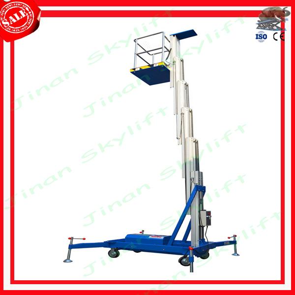 10m aluminum hydraulic mast lift(China (Mainland))