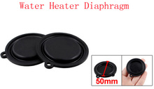 Black 50mm Dia Flexible Rubber Water Heater Diaphragms Washer Seal 20 Pcs(China (Mainland))