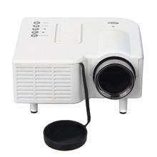 Hot sale UC28+ Projector Mini LED Digital Video Game Projectors Multimedia Player Inputs AV VGA USB SD HDMI Home Theater Cinema(China (Mainland))
