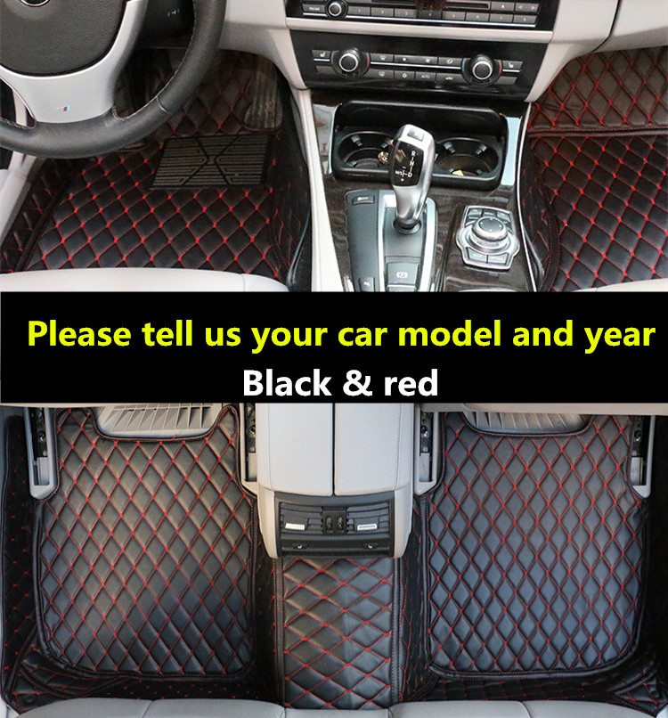 High quality full set leather anti slip car mats special 3d car floor mats car-covers carpets Toyota CAMRY