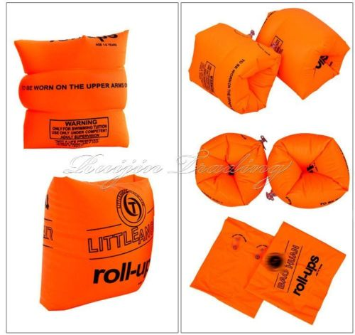 1 pair Baby Swimming rings Arm Bands Inflatable Safety Swim Water Wings Armbands Aid Floats(China (Mainland))