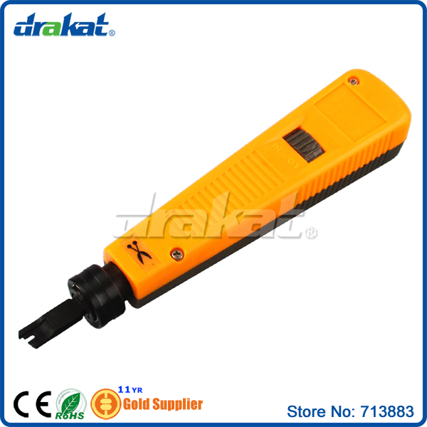 Punch Down Tool 110 88 with Adjustable spring impact mechanism(China (Mainland))