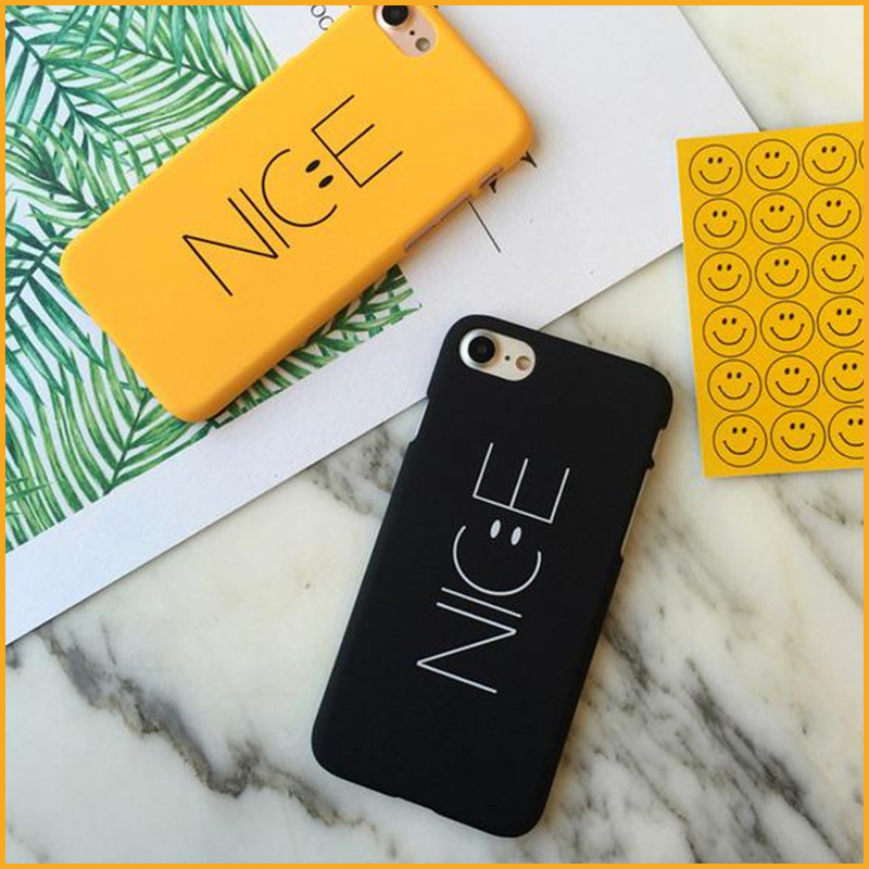 Black Yellow Cell Phones Case For iphone 7 7 Plus 6S 6 Plus SE 5S 5 Hot Selling Simple Design Hard Phone Back Cases MN774(China (Mainland))