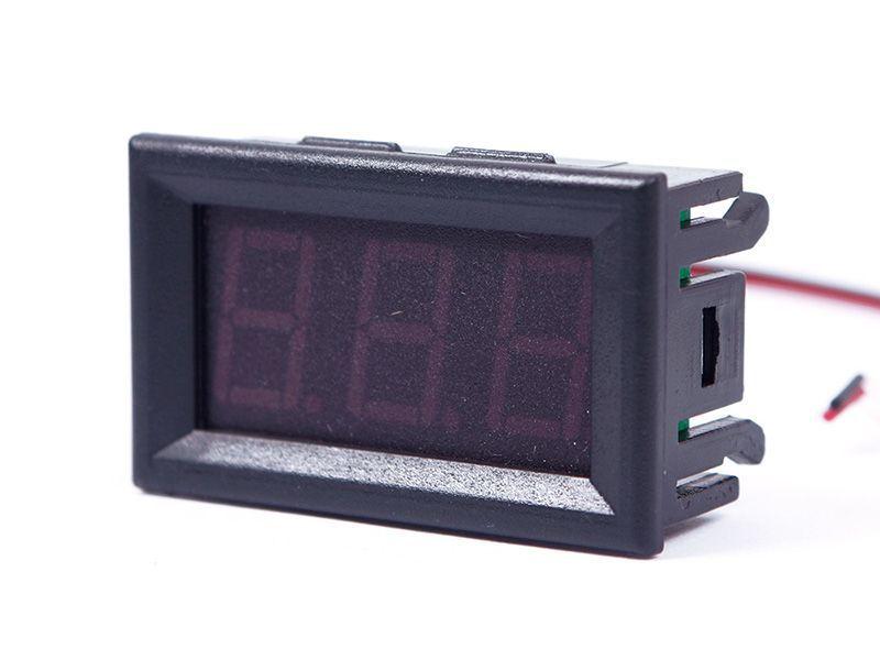 Hot Sale DC 0 30V Red LED 3 Digital Display Voltage Voltmeter Panel Motorcycle 01 55834