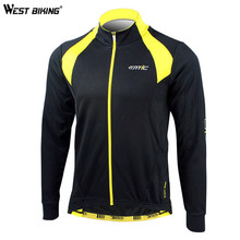 Buy WEST BIKING Winter Cycling Clothing Windproof Fleece Thermal Ropa Ciclismo Sport Jacket Hiking Bike Bicycle Cycling Jersey for $46.42 in AliExpress store