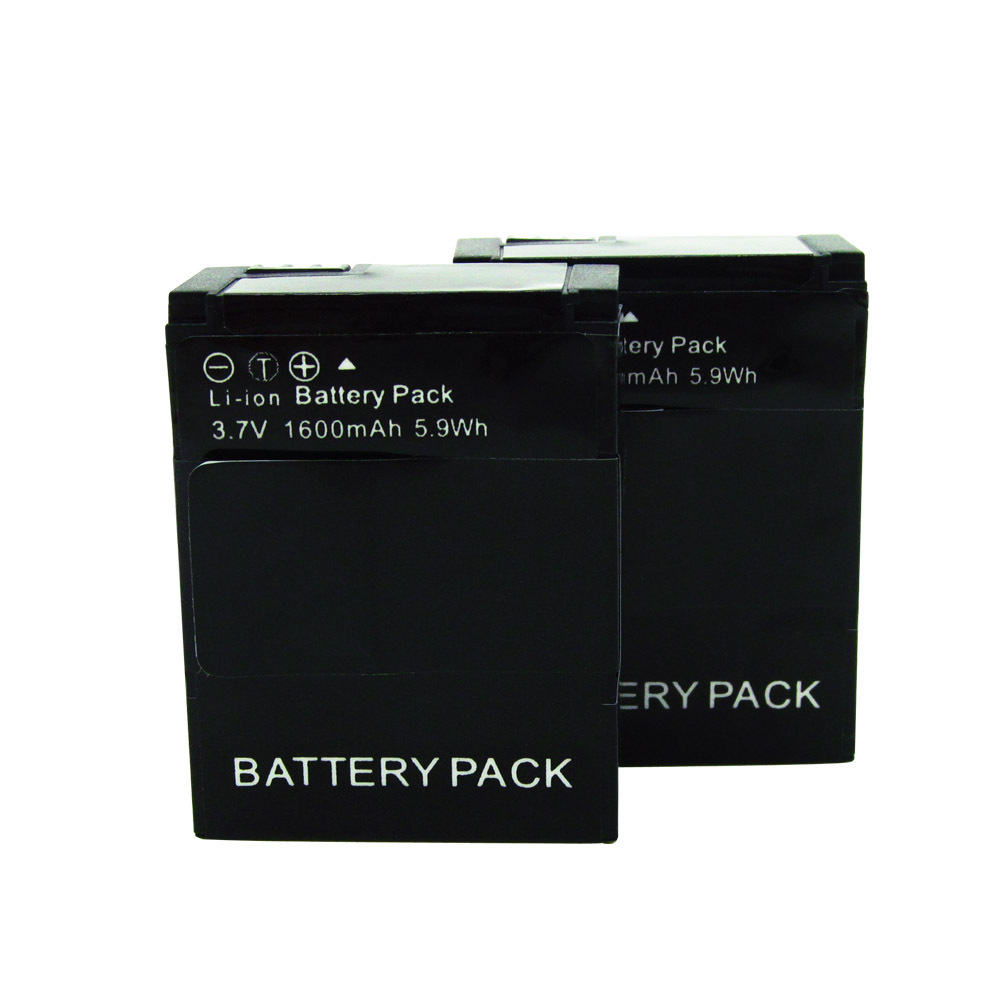 Gopro Battery 1600mAh Rechargeable Battery AHDBT 301 AHDBT 201 For Gopro Hero 3 3 Camera Gopro