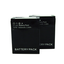 Gopro Battery 1600mAh Rechargeable Battery AHDBT-301 AHDBT-201 For Gopro Hero 3 3+ / Camera Gopro Accessories