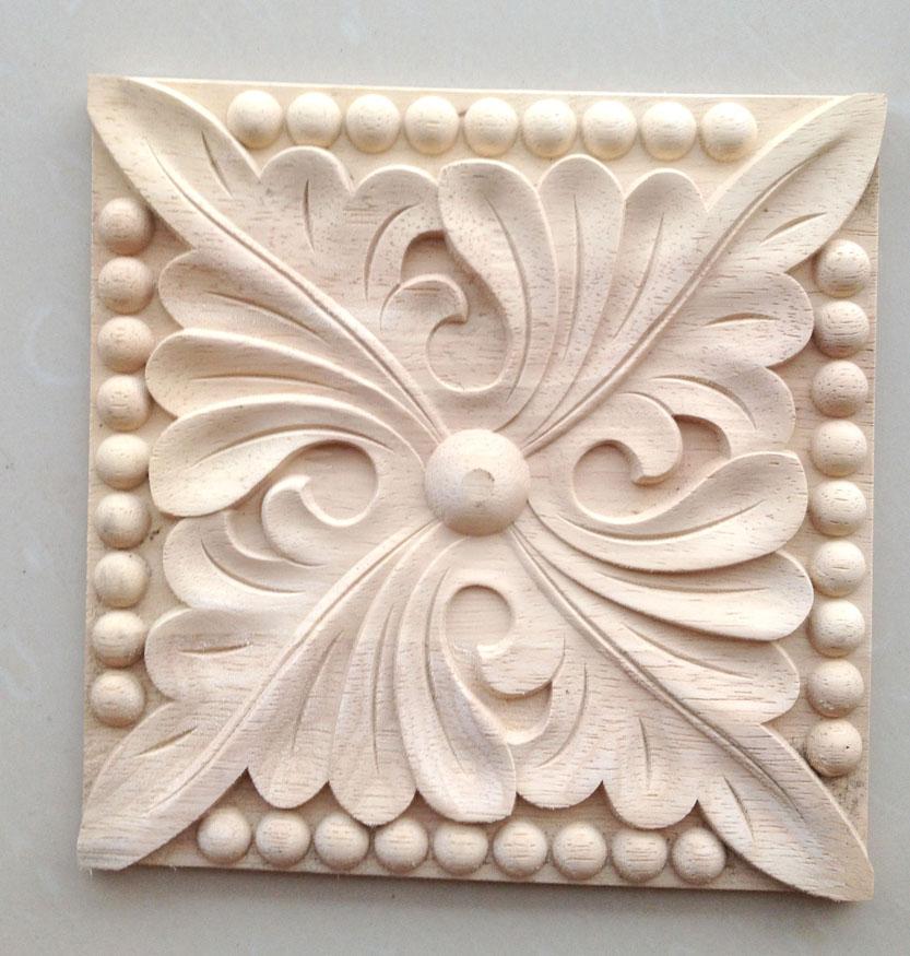 Dongyang wood carving solid wooden door furniture bed