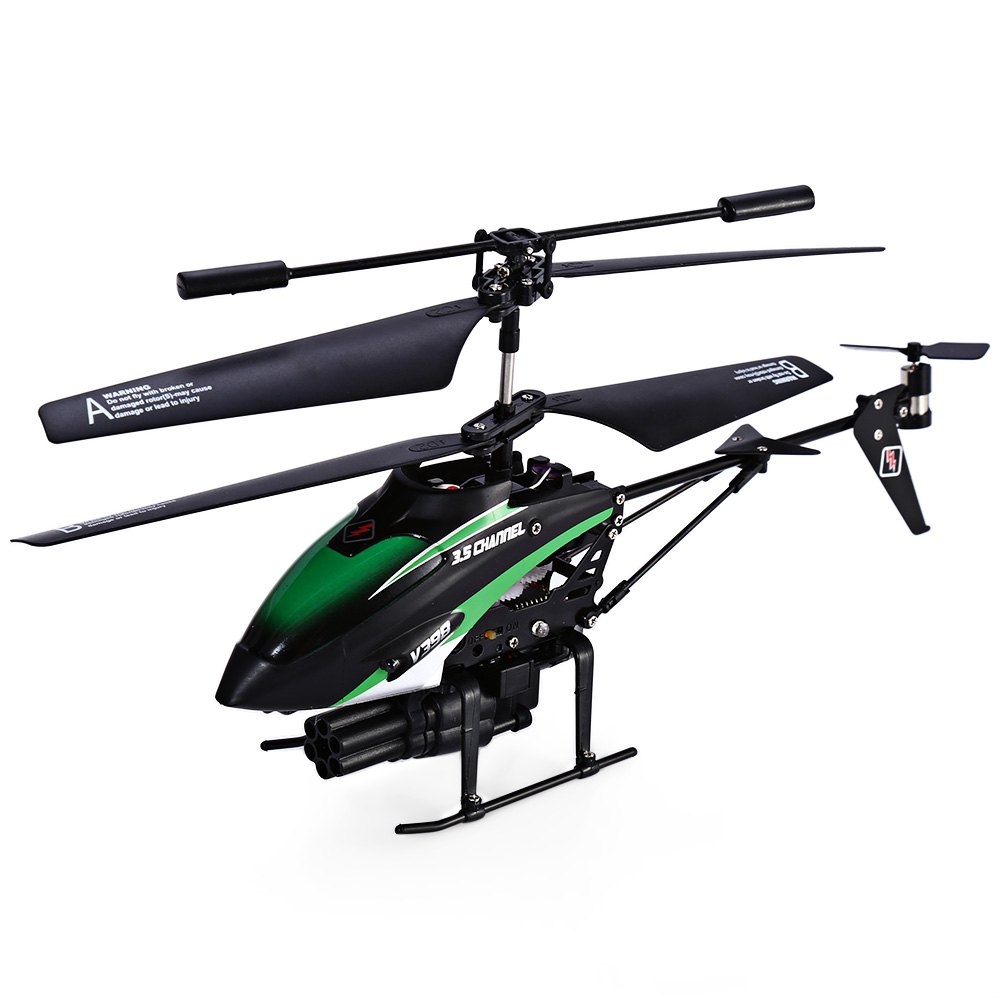 V398 RC Helicopters Missile Launching Built-in Gyro Infrared RC Helicopter Mode2 3.5 Channel Remote Control Heli Gyro(China (Mainland))