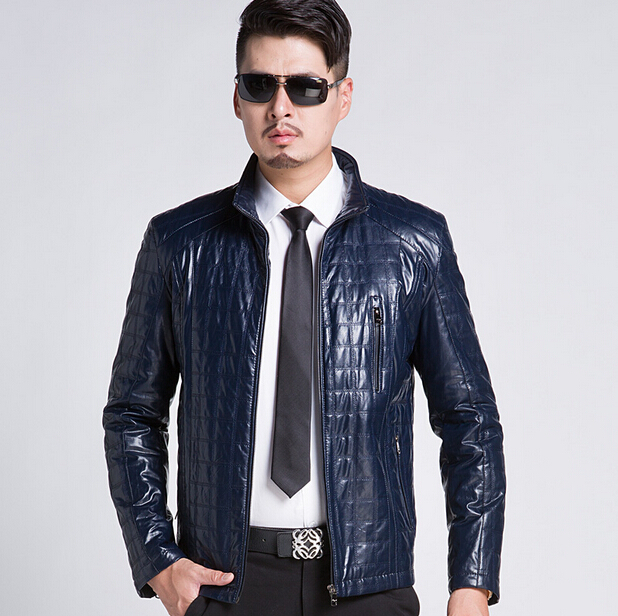 HOT! 2015 New Plus Size 3XL Leather Jacket Men Leather Coats Male Jackets Coat Casual Business Mens Leather Clothing Одежда и ак�е��уары<br><br><br>Aliexpress