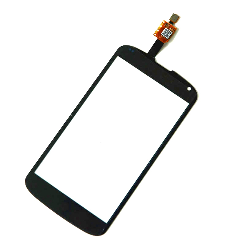 Nexus 4 Touch Screen Digitizer Replacement For LG Nexus 4 E960 Lcd Panel Display Front Glass 4.7inch With logo Free Shipping
