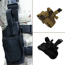 Classic Adjustable Practical Puttee Bag Thigh Leg For Holster Pouch Outdoor Hunting Airsoft Military Tactical free shipping(China (Mainland))